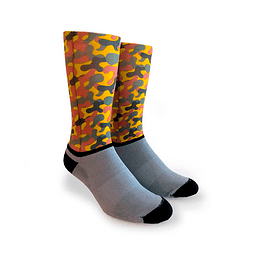 Oliver Socks - Calcetines Camouflage Orange