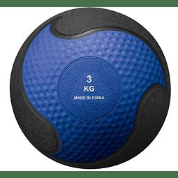 BODY SCULPTURE MEDICINE BALL 3 KG / NEGRO AZUL