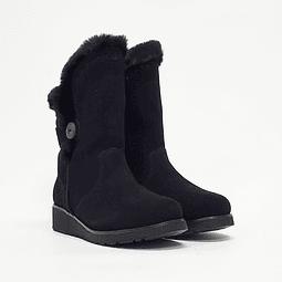 Skechers - Bota Mujer Keepsakes Wedge Black
