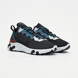 Nike - Zapatilla Hombre React Element 55 Se Anthracite/Blue Fury