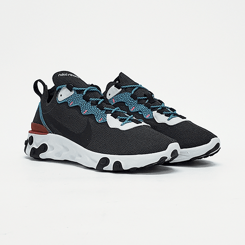 Nike - Zapatilla Hombre React Element 55 Se Anthracite/Blue Fury