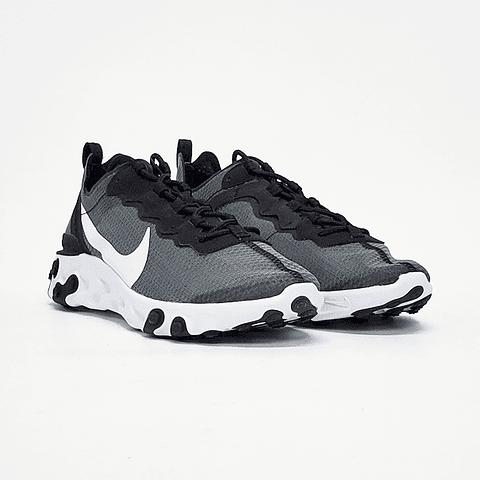 Nike - Zapatilla Hombre React Element 55 Se Black/White