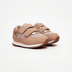 Colloky - Zapatilla Niña 2 Velcros Jogging Pink