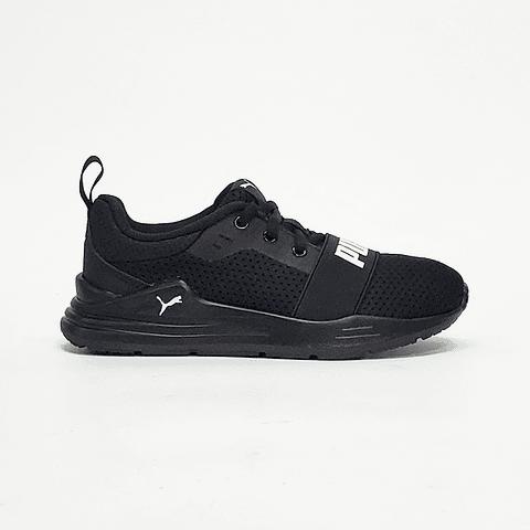 Puma - Zapatilla Juvenil Ps Wired Run Black