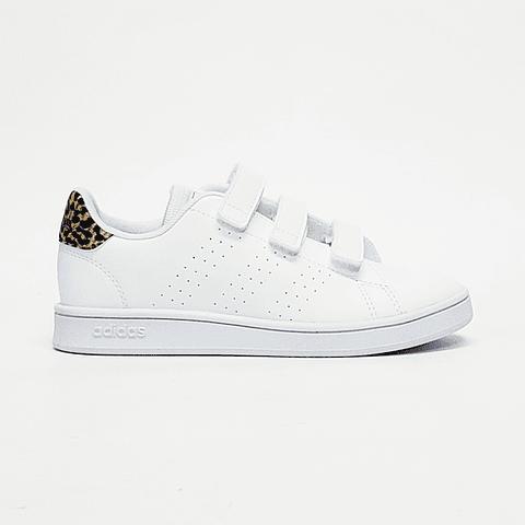 Adidas - Zapatilla Juvenil Advantage C White