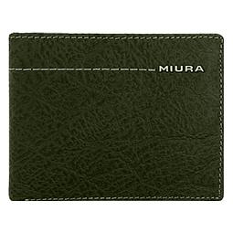 Miura - Billetera Cuero Hombre Verde