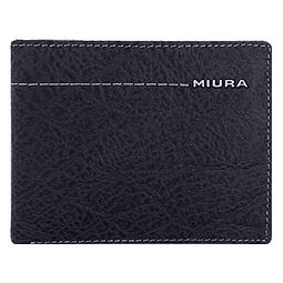Miura - Billetera Cuero Hombre Azúl