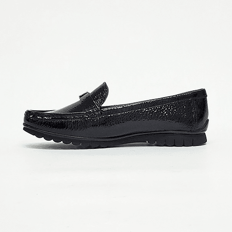 Gacel - Zapato Mocasín Mujer Richato Negro