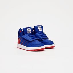 Adidas - Zapatilla Infantil Hoops Mid 2.0