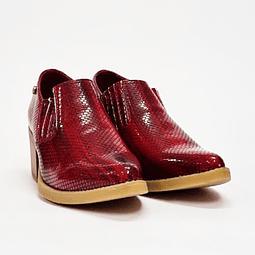 Via Rosmini - Zapato Mujer Burgundy