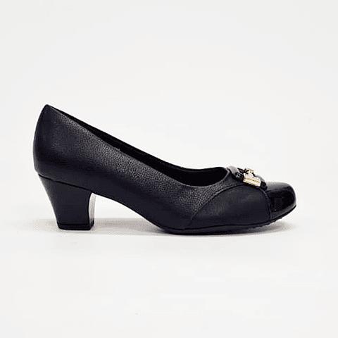Piccadilly - Zapato Mujer Relax Preto