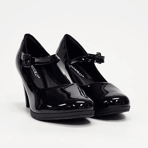 Piccadilly - Zapato Mujer Verniz Preto