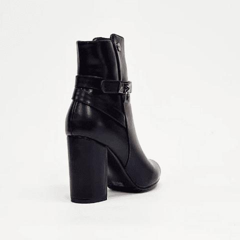 Via Rosmini - Botín Mujer Black