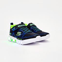 Skechers - Zapatilla Niño Flex Glow