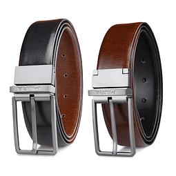 Miura - Cinturón Hombre Cuero Reversible