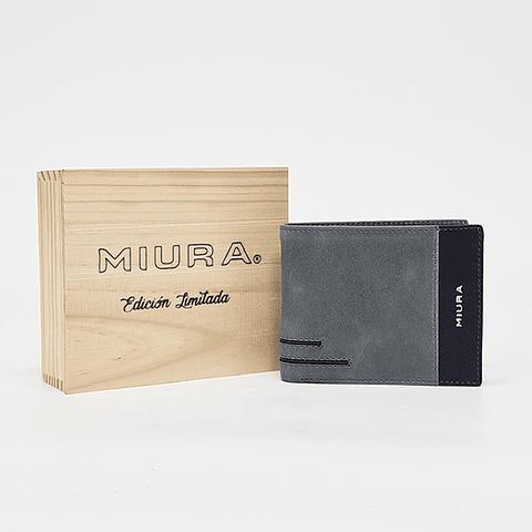 Miura - Billetera Hombre Gris Claro