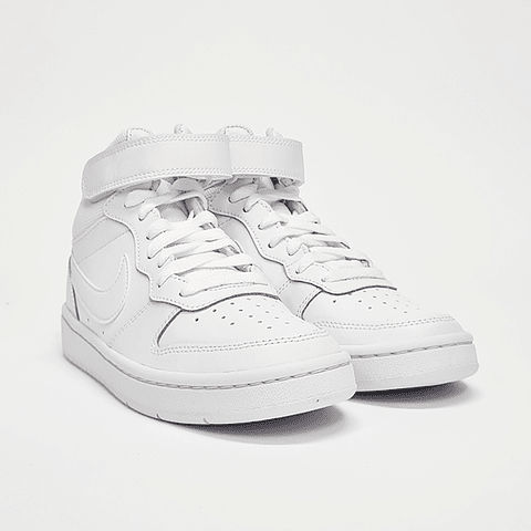 Nike - Zapatilla Juvenil Court Borough White