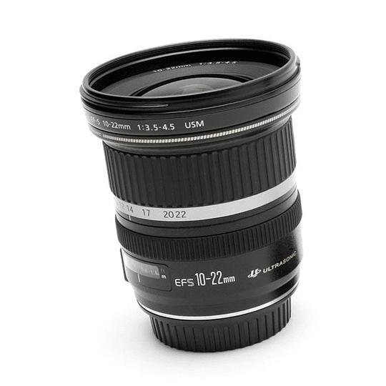 Arriendo de Lente Canon EF-S Zoom 10-22mm