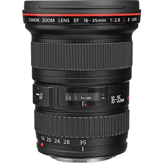 Arriendo de Lente Canon EF zoom 16-35 f2.8 II Serie L