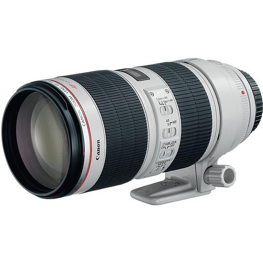 Arriendo de Lente Canon EF Zoom 70-200 2.8 IS Serie L Mk II