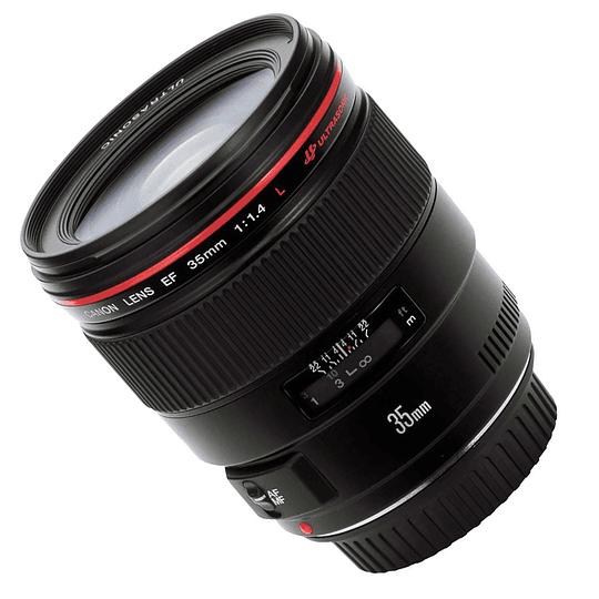 Arriendo de Lente Canon EF 35 mm 1.4 L USM