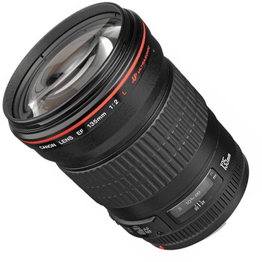 Arriendo de Lente Canon EF 135 mm 2.0 L USM