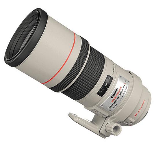 Arriendo de Lente Canon EF 300 mm f 4 L IS Teleobjetivo