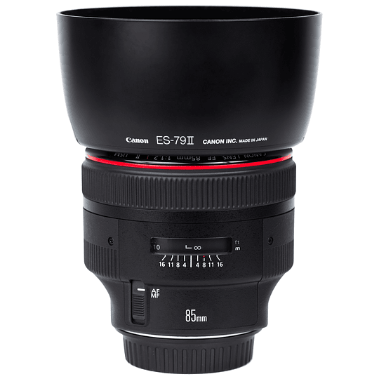 Arriendo de Lente Canon EF 85 mm 1.2 L II