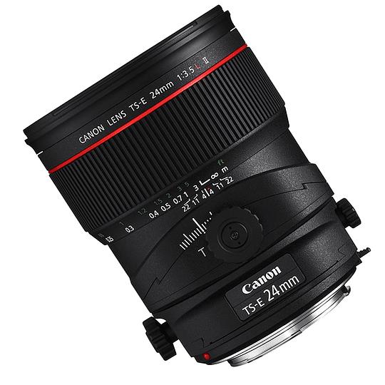 Arriendo de Lente Canon TS-E 24 mm f/3.5 L Tilt Shift Mk II