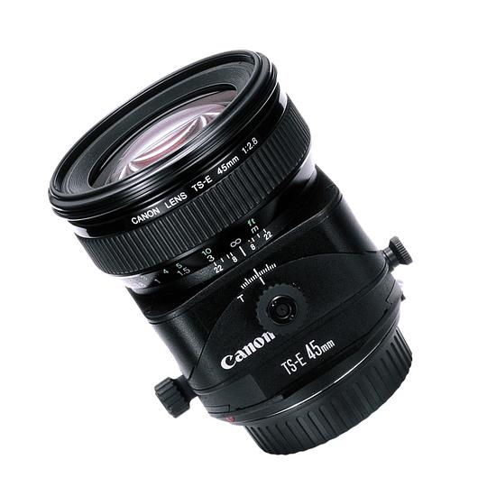 Arriendo de Lente Canon TS-E 45 mm / f 2.8 Tilt Shift