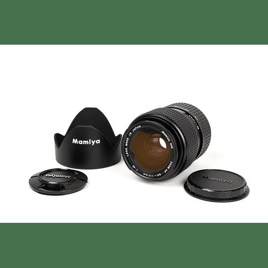 Arriendo de Lente zoom Mamiya 55-110 mm f3.5