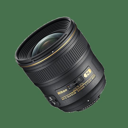 Arriendo de Lente Nikon AF-S NIKKOR 24mm 1.4G ED