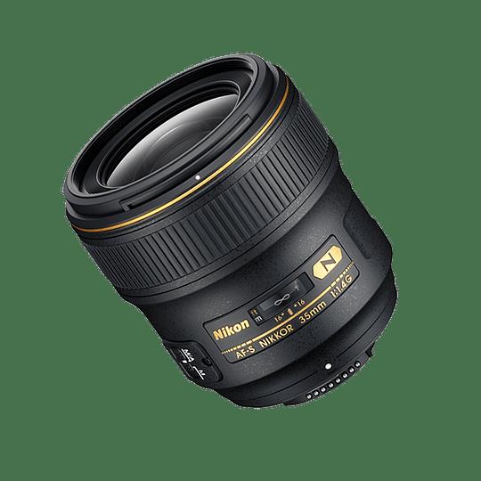 Arriendo de Lente Nikon AF-S NIKKOR 35mm 1.4G ED