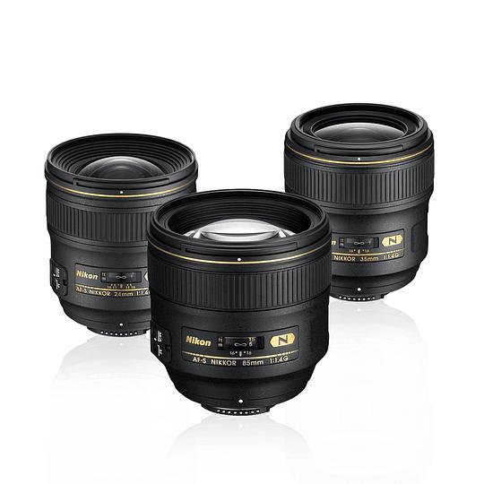 Arriendo de Maleta 3 lentes Nikon