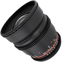 Arriendo de Lente Rokinon 16mm T2.2 Cine APS-C Canon o Nikon
