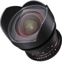 Arriendo de Lente Rokinon 14mm T3.1 Cine DS Canon o Nikon