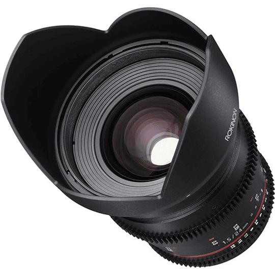 Arriendo de Lente Rokinon 24mm T1.5 Cine DS Canon o Nikon