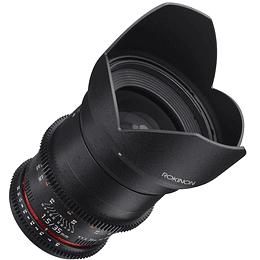 Arriendo de Lente Rokinon 35mm T1.5 Cine DS Canon o Nikon