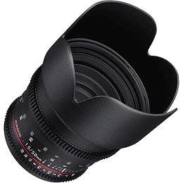 Arriendo de Lente Rokinon 50mm T1.5 Cine DS montura Canon