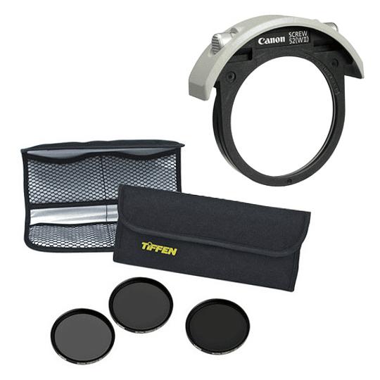 Arriendo de Kit de Filtros Tiffen ND 52mm para Canon 300 2.8 EF IS