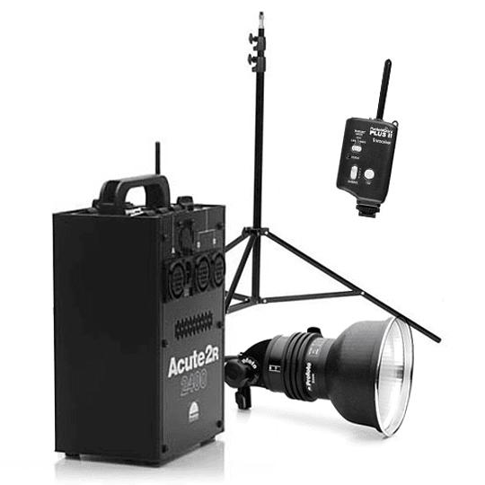 Arriendo de Generador Profoto Acute 2R 2400 w/s con cabezal Acute y Pocket Wizard