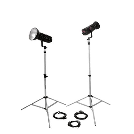 Arriendo de Kit de flash Bowens Pro (500P,500P) 2 unidades 1000 w/s totales