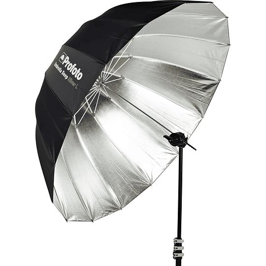 Arriendo de Paraguas Profoto Deep Plata / Deep Silver L (130cm / 51