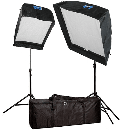Arriendo de Kit Arrilite Arri 1000w con cajas de luz 90x120 y 60x80