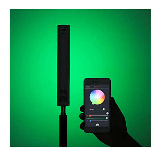 Arriendo de Kit de 3 Mini Tubo Led Yongnuo YN60 RGB 30cm con batería interna