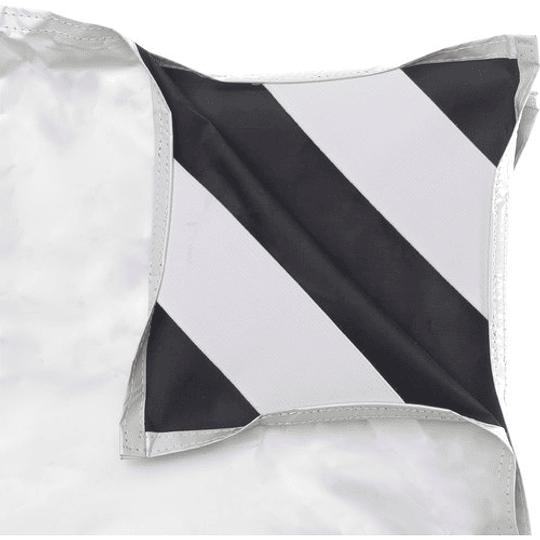 Arriendo de Tela Chimera Blanca/Negra 42x42 (100x100cm)