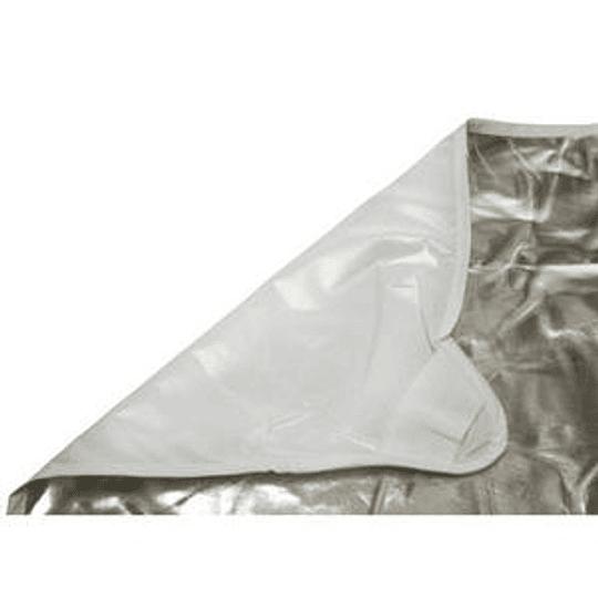 Arriendo de Tela Photoflex Blanco/Plata 1.8x1.8mt