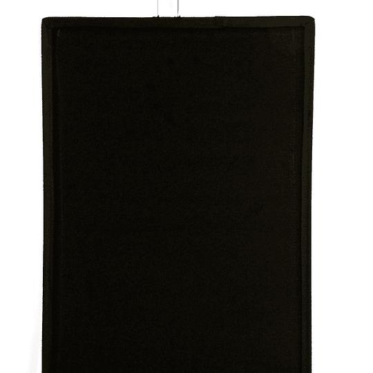 Arriendo de Bandera 45x60cm Negra Opaca  (Solid Black)