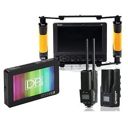 Arriendo de Kit de Video Assist con 2 Monitores y Transmisor Paralinx Triton