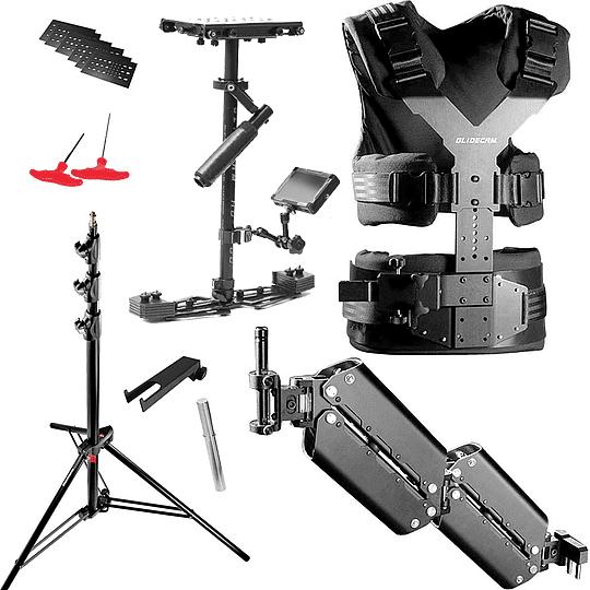 Arriendo de Kit Glidecam HD-4000 con Monitor y Chaqueta X-10 con Brazo